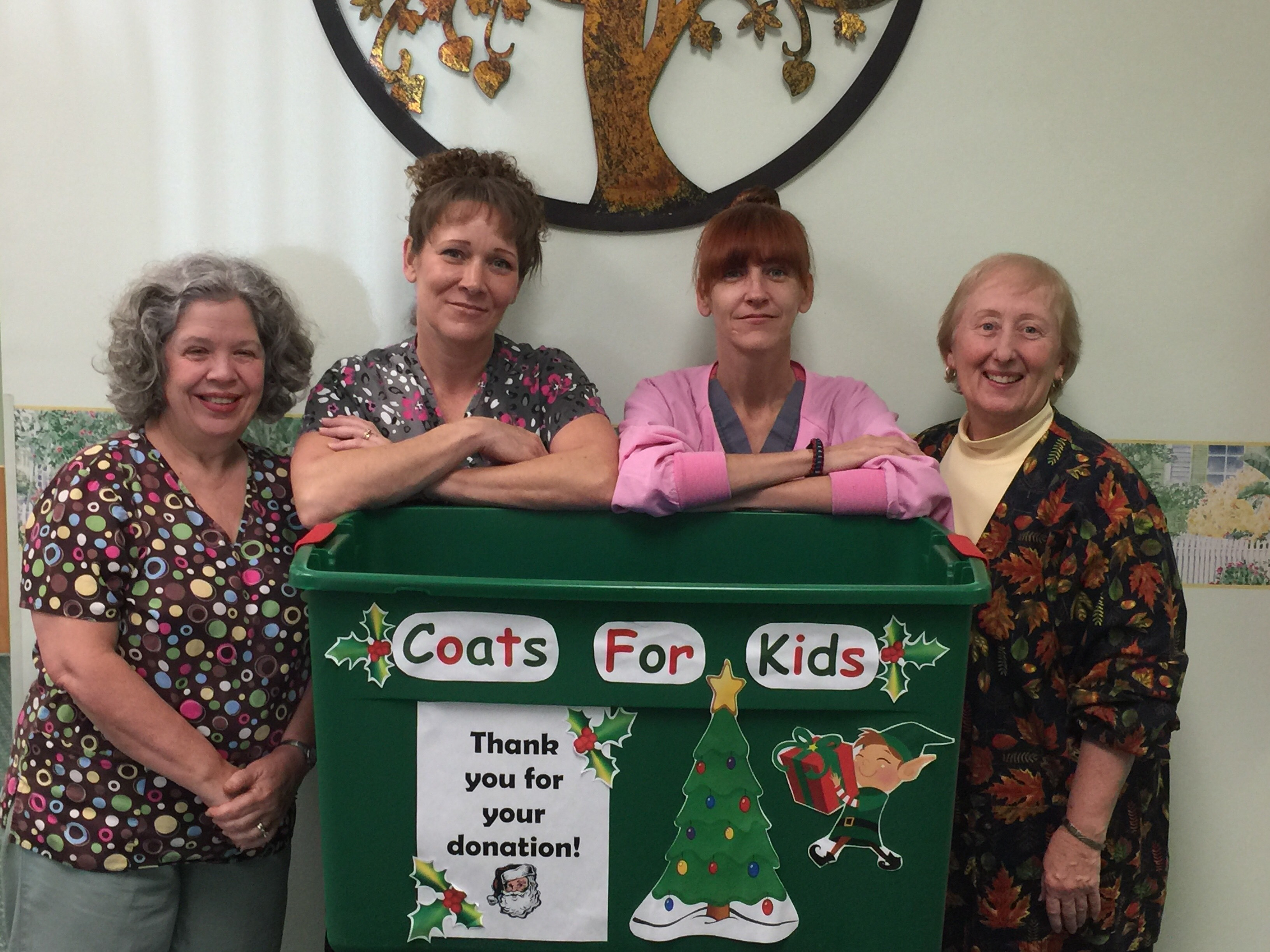 Coats for kids staff photo